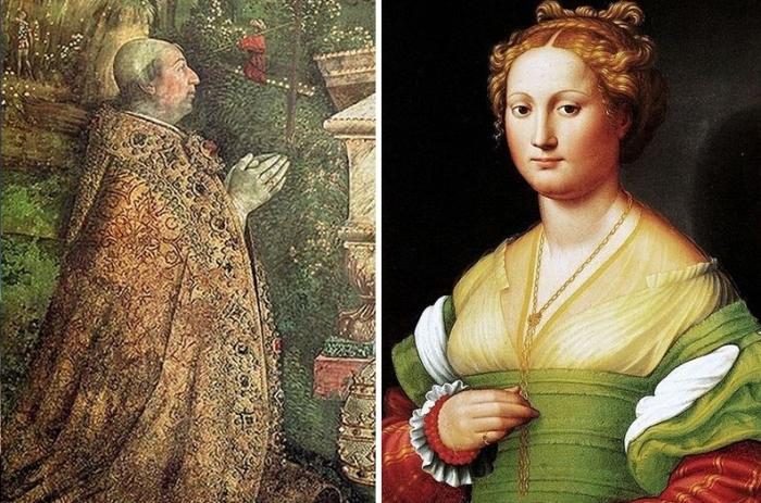 Папа Римский Александр VI Борджиа и Роза Ваноцци